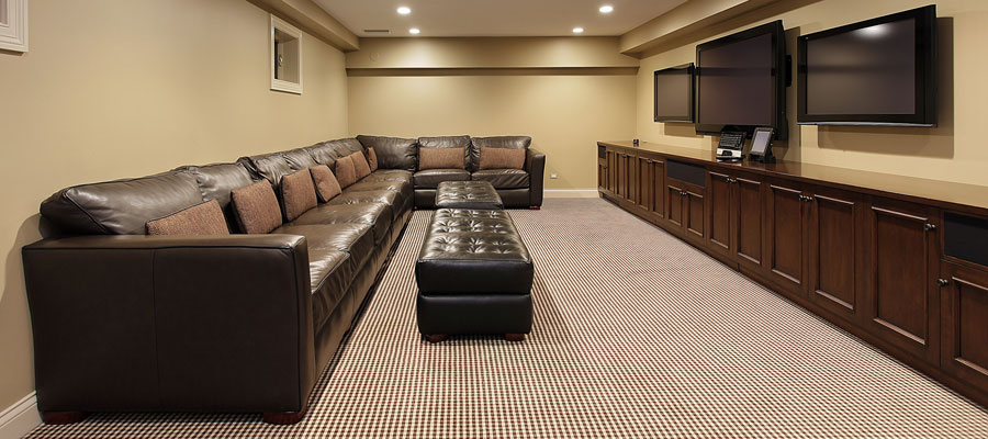 Basement finishing is the perfect strategy to gain additional living space, a division of the remodeling work that we do.
